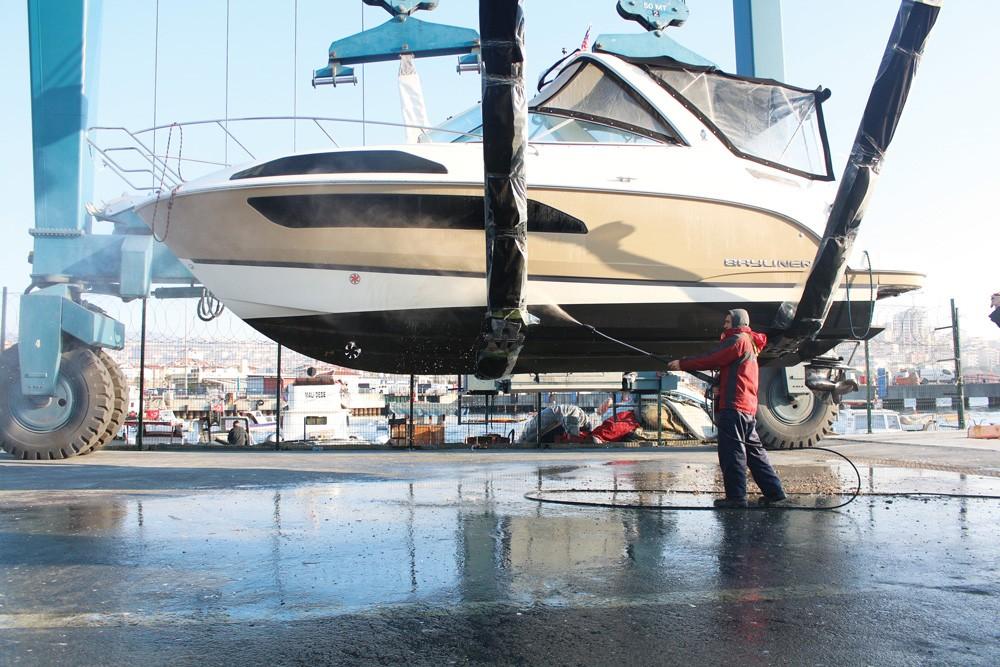 Teknenizi ilgisiz bırakmayın - Tekne altı yıkama