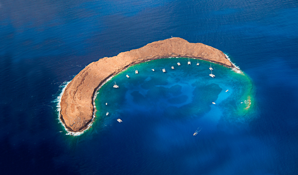 Hawaii Adaları - Molokini Krateri