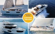 Boat Show Euarasia'nın gözdeleri.. Fuarda yer alacak tekne ve ekipmanlar...