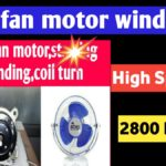 24 slot cooler motor winding data