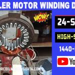 Cooler Motor Winding Data   24 Slot Cooler Motor Rewinding-motorcoilwindingdata.com