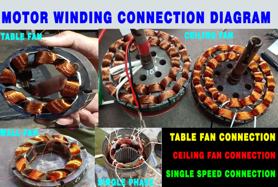 Motor Winding Connection Diagram motorcoilwindingdata.com