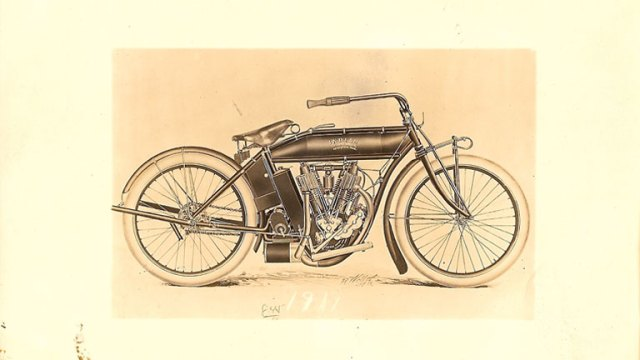 1911 : Indian Motorcycle