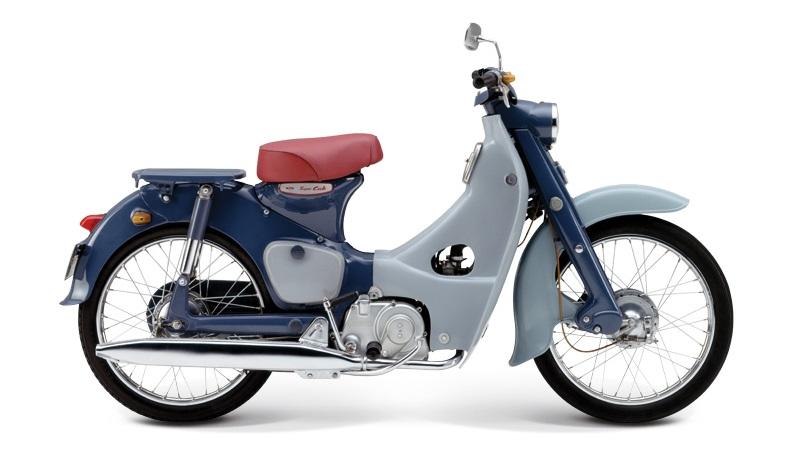 Honda C100 Super Cub - 1958