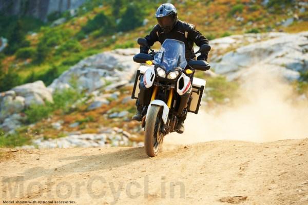 Yamaha 2013 Super Tenere on dirt