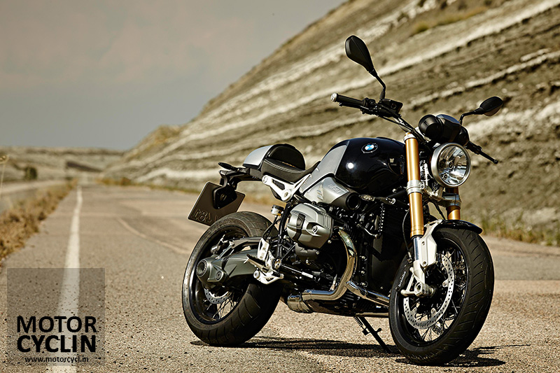 photos of BMW R nineT cafe racer hump