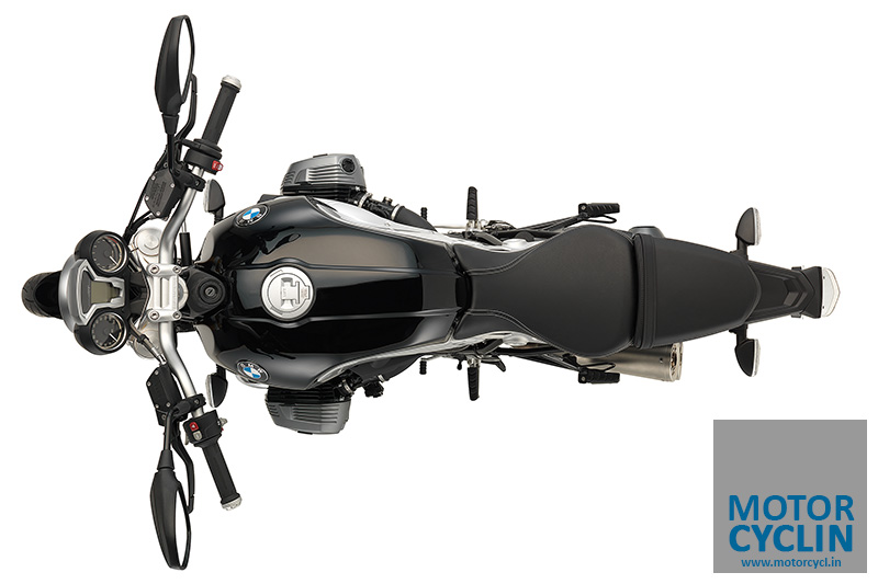 photos of BMW R nineT - top view