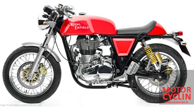 Royal Enfield Continental GT – First ride