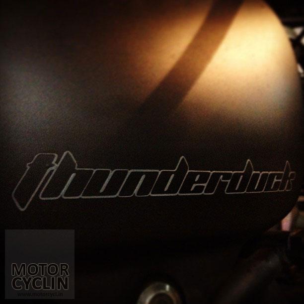 matte black ThunderDuck - name