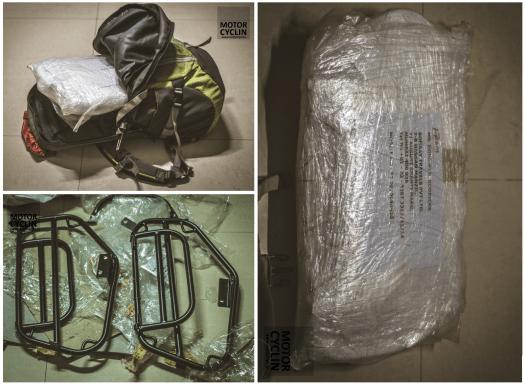 Royal Enfield Himalayan Saddle Bag Stay shipping