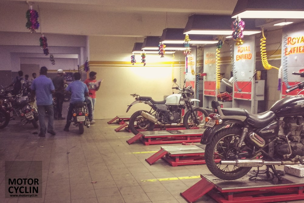 Royal Enfield Brand Store Service Station