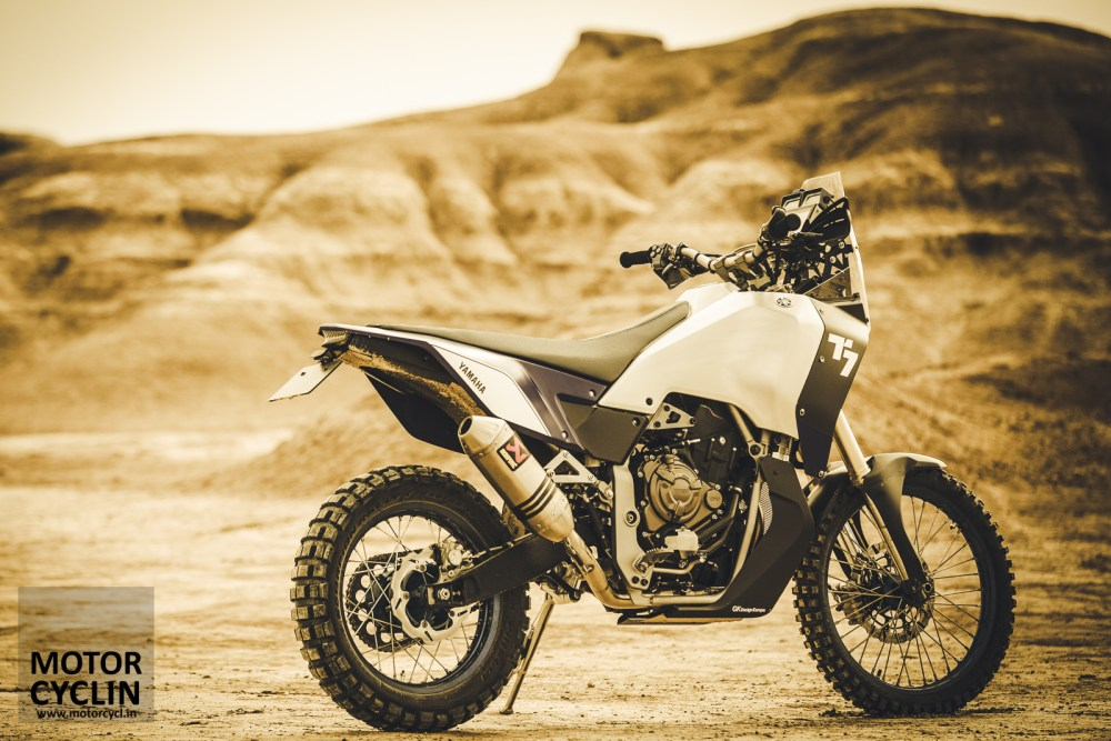 Yamaha T7 Concept, tribute to the original Tenere. Sigh!