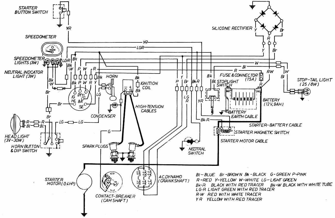 Yamaha Warrior 350 Wiring Diagram