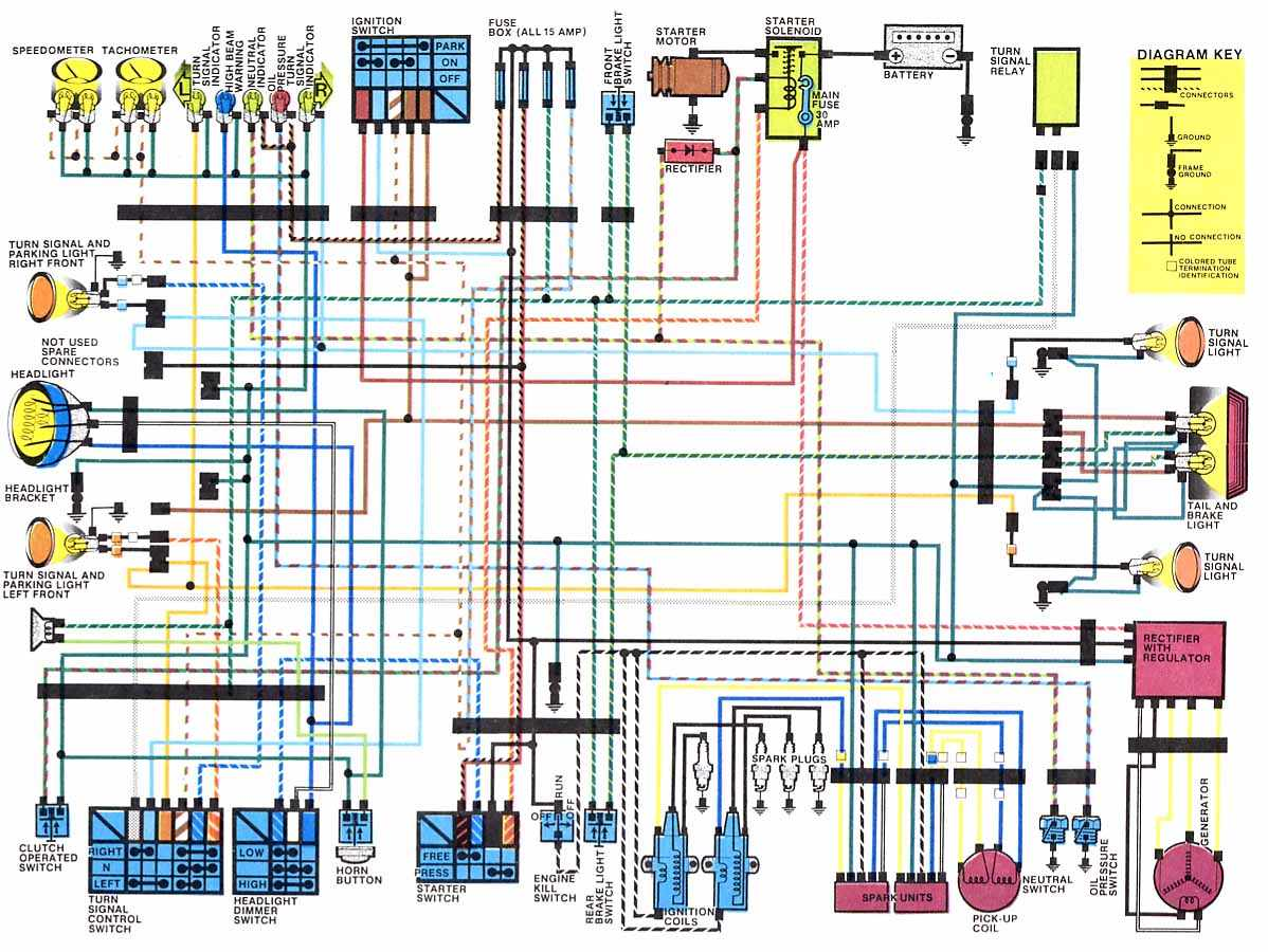 motorcycle honda shadow wiring diagram 1965 schematic diagram