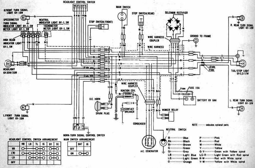 Hero Honda Splendor Plus Wiring Diagram  Wiring Diagram