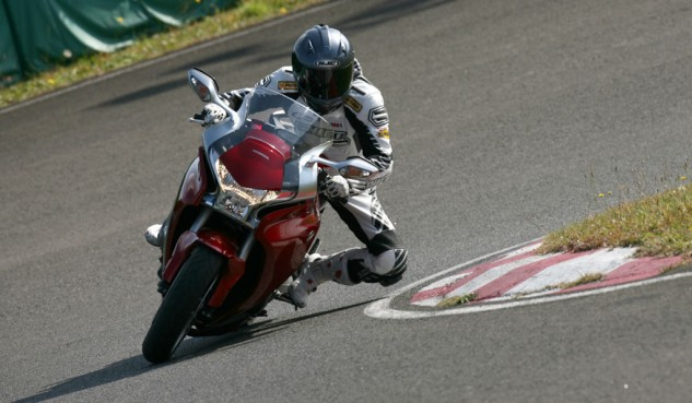 Motorcycle Cornering Track
