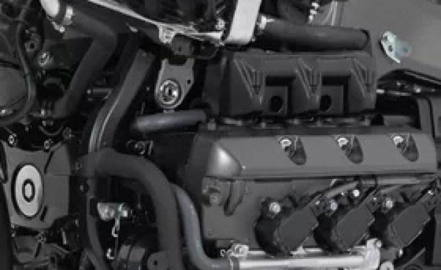2018 Honda Gold Wing Engine