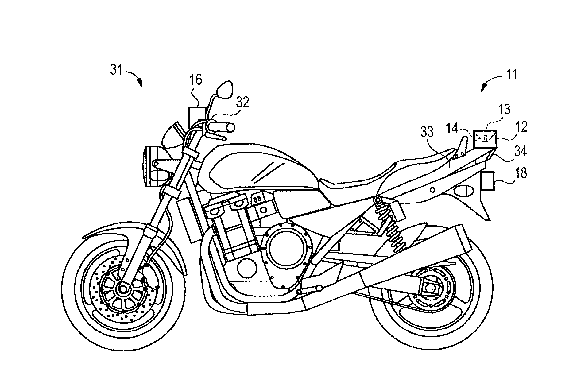 Suzuki Developing Tunnel Lighting System For Motorcycles