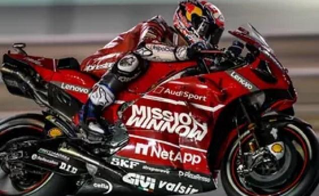 Andrea Dovizioso at MotoGP Losail 2019