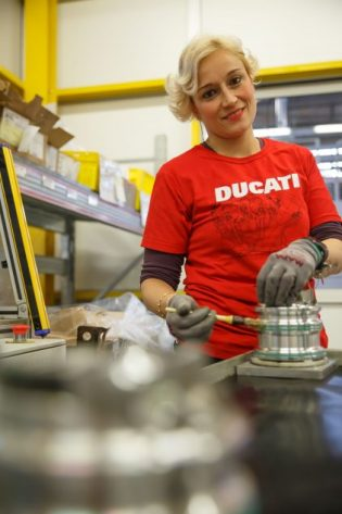 The Women of Ducati's Bologna Factory