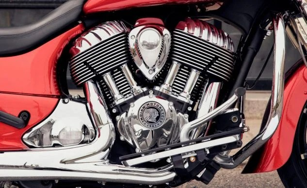 2019 Indian Chieftain Limited Thunder Stroke 111 engine