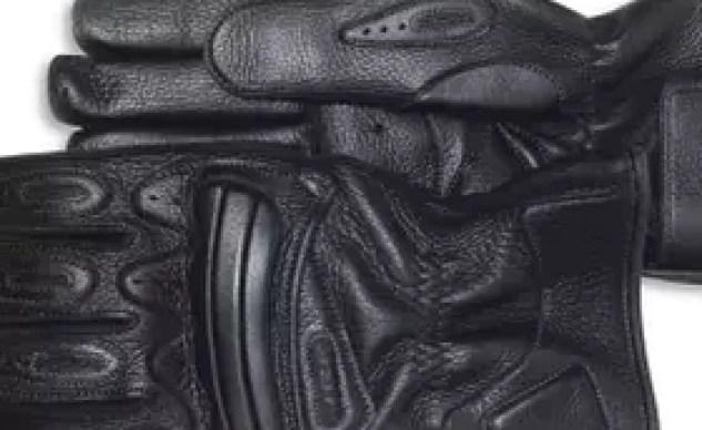 Aerostich Luxury Deerskin Three Season Gloves