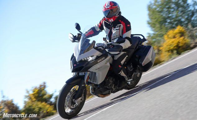 Best Sport-Touring Motorcycle of 2019: Ducati Multistrada 950 S