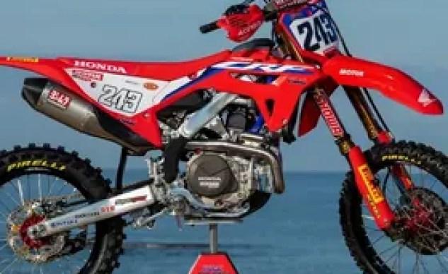 Tim Gasjer's Honda CRF450RW