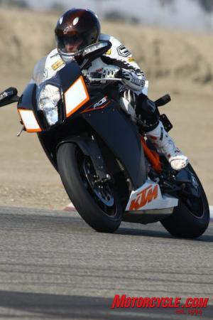 The WP suspension performed admirably once it was set up for the weights of our riders.