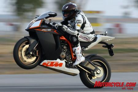 Knowing the RC8R has nearly 150 horsepower at the wheel, it will come as no surprise to learn that front tires will last a lot longer than rears.