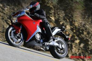 The responsive VFR1200F feels much lighter than it is.