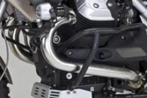 Moto Guzzi's Quattro Valvole engine provides plenty of power, even at high altitudes.