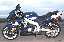 The social ramifications of technology show themselves in blue and white in the form of the YZF-600.