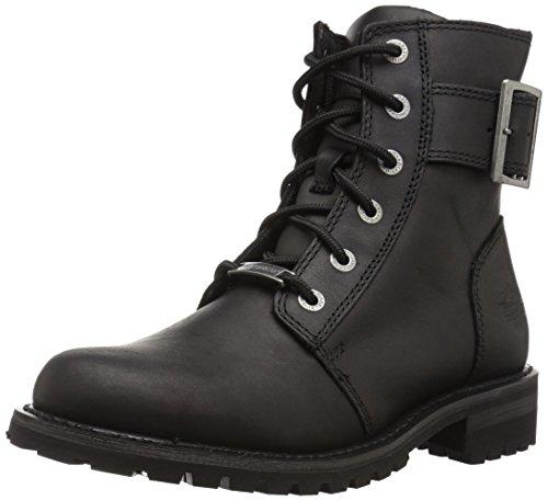 Black 10.5 Medium US HARLEY-DAVIDSON FOOTWEAR Mens Chipman Motorcycle Boot