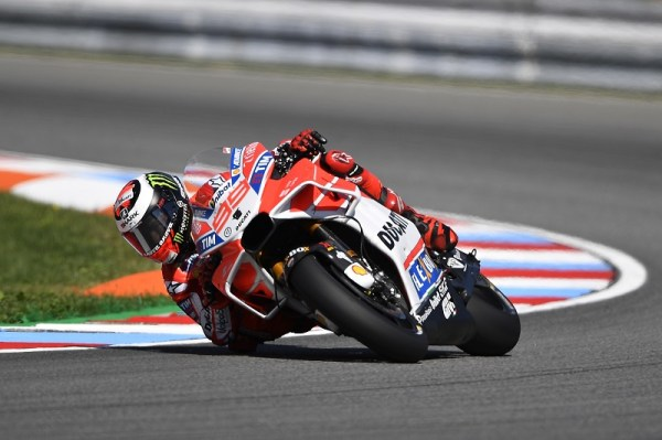 Row 2 start for Ducati Team riders in the Czech Grand Prix ...