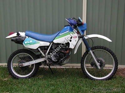 Kawasaki Klr 250 1989 Specifications