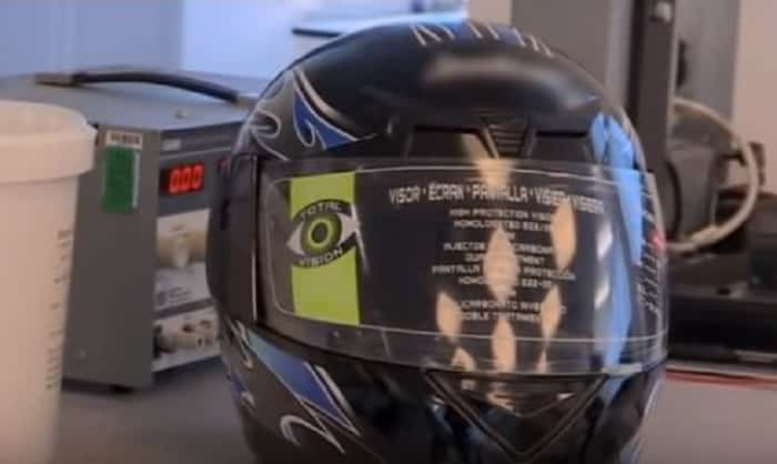 How to spot a fake motorcycle helmet