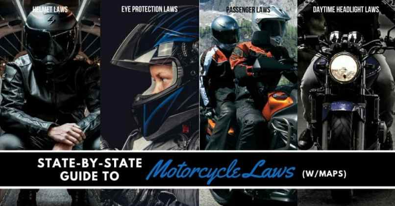 State By Guide To Motorcycle Laws