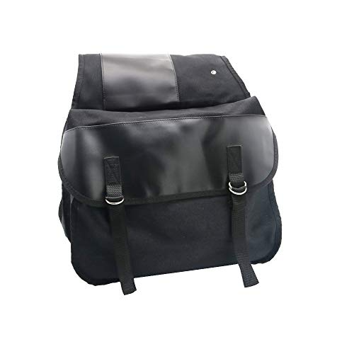 KEMIMOTO Motorcycle Saddle Bags Bike Travel Panniers Bag for Sportster Dyna Softail Honda Suzuki Yamaha