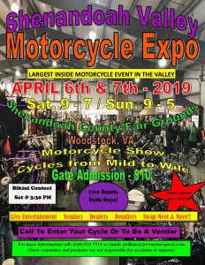 2019 Shenandoah Valley Motorcycle Expo