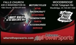 Woodbridge Annual Auction - Coleman PowerSports
