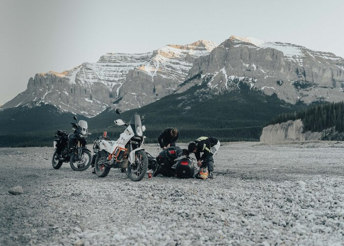 Off-roading in south America - best touring motorcycle