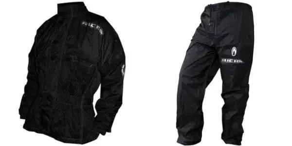 richa rain warrior (2-piece) - motorcycle touring rain gear