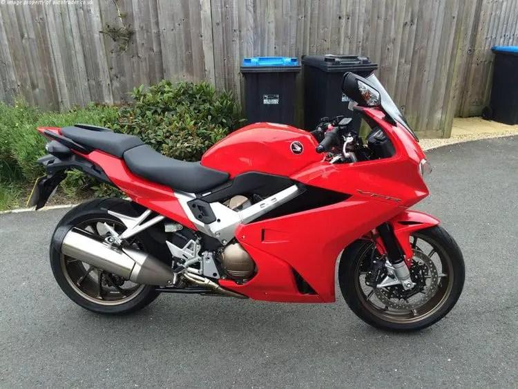 honda vfr800 - most comfortable touring motorcycles