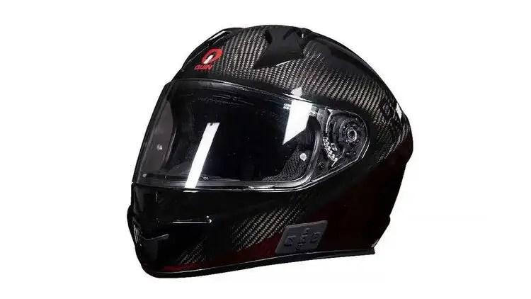 carbon fibre quin helmet