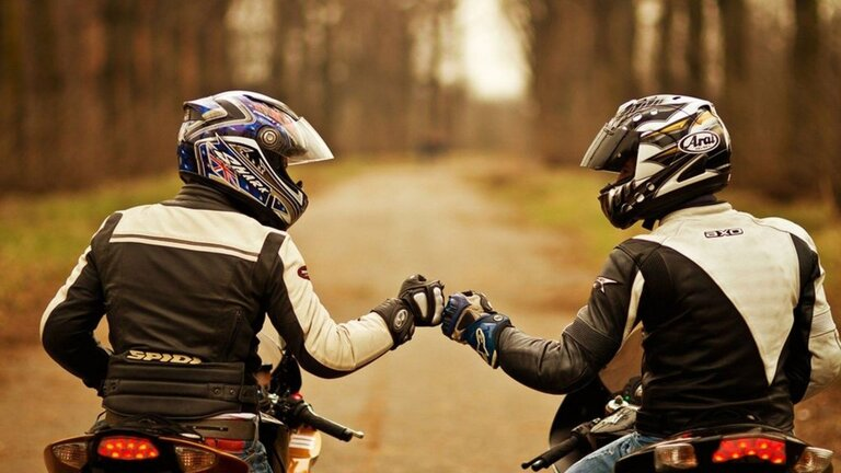 riding in a group - don't harbour resentments