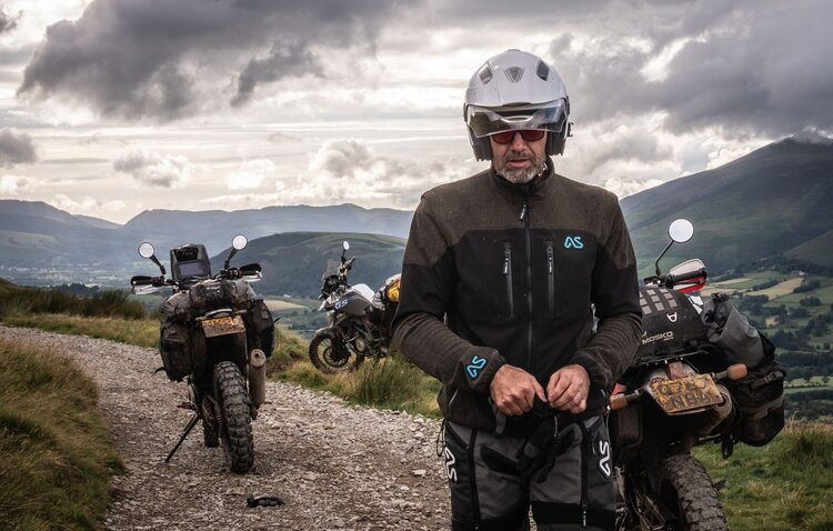 adventure spec linesman jacket trails - best waterproof motorcycle jacket
