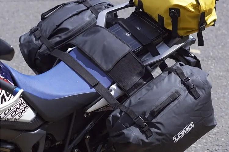motorcycle luggage for optimum motorcycle touring comfort