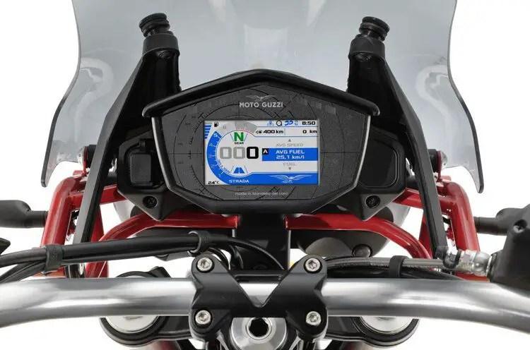 moto guzzi v85 dash - long-distance motorcycling