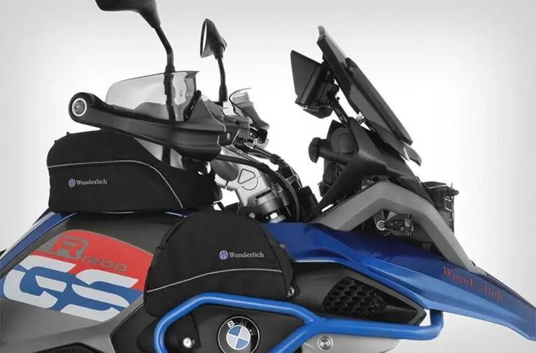 motorcycle tank bag on bmw gs1200